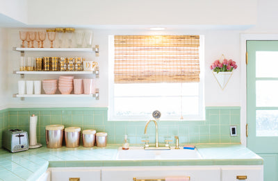 A Vintage Kitchen & Vintage Cookie Recipe