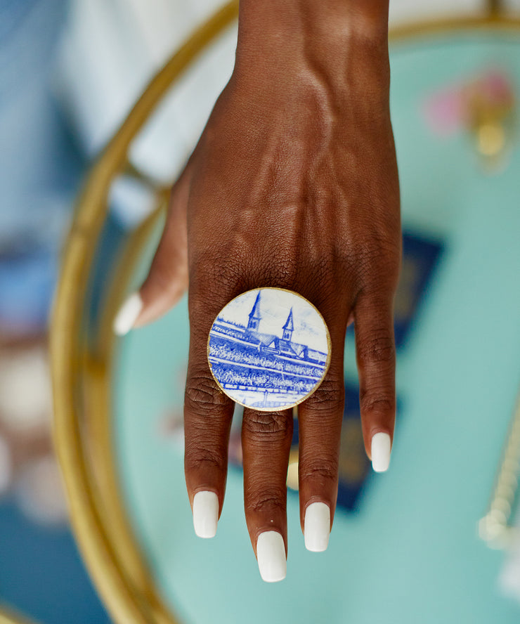 Kentucky Derby Cocktail Ring (Storm The Court)