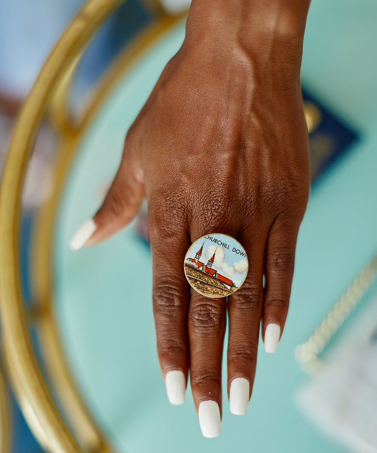 Kentucky Derby Cocktail Ring (Innisfree)