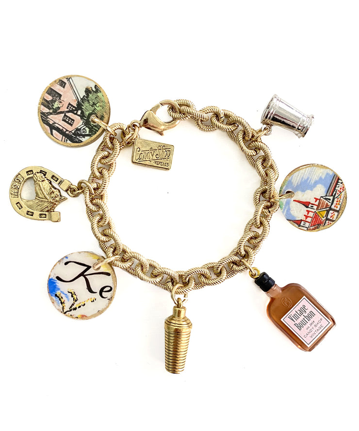 Kentucky Derby Charm Bracelet (Independence Hall)