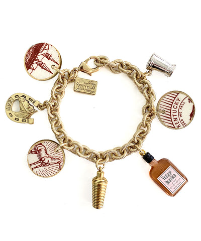 Kentucky Derby Charm Bracelet (Maxfield)