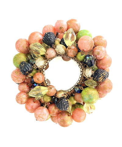 Vintage Expandable Fruit Salad Bracelet