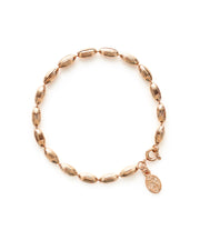 Charleston Rice Bead Bracelet (Rose Gold)