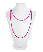 Charleston Rice Bead Necklace (Camelia)