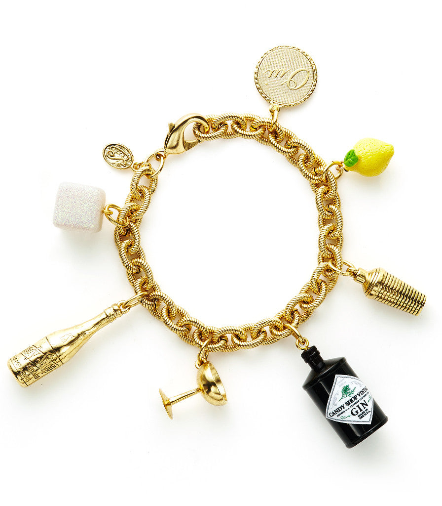 French 75 Cocktail Bracelet