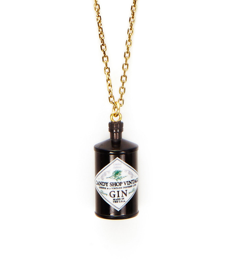Gin Pendant Necklace