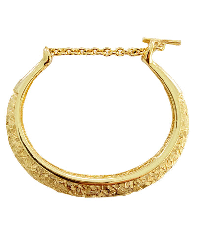 Vintage Horseshoe Bangle