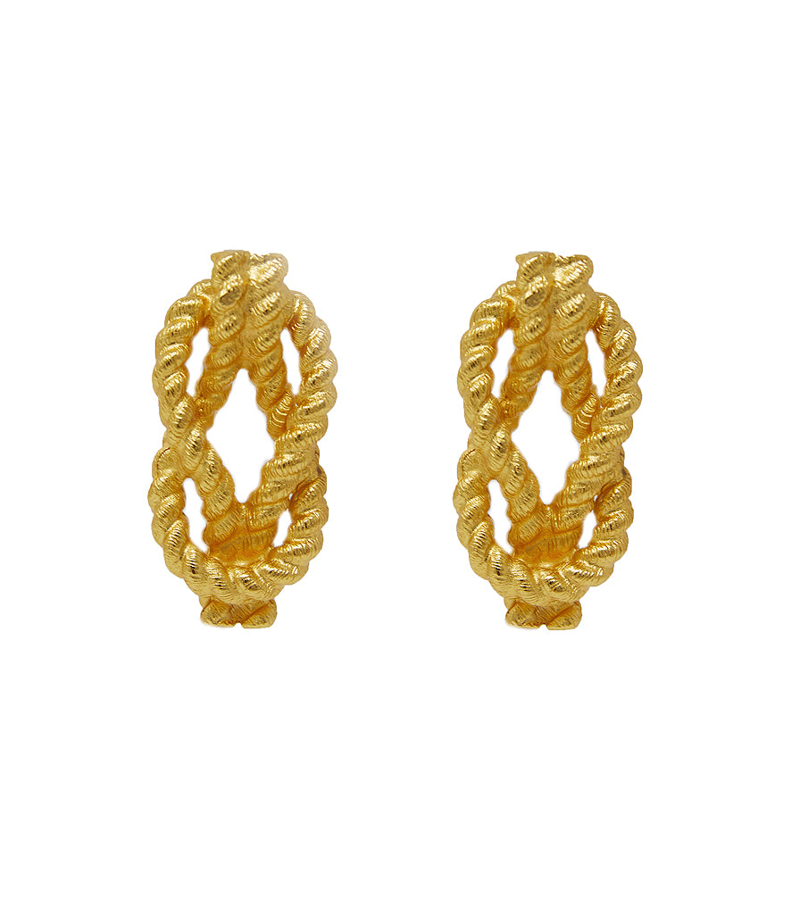 Sullivan's Knot Earrings (Gold)