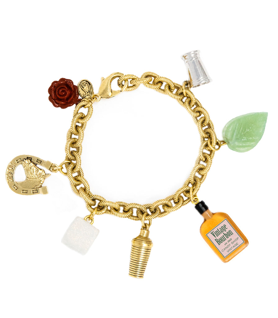 Mint Julep Cocktail Bracelet