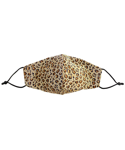 Silk Face Mask (Leopard Print)