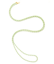 Charleston Rice Bead Necklace (Mint Julep)