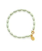 Charleston Rice Bead Bracelet (Mint Julep)