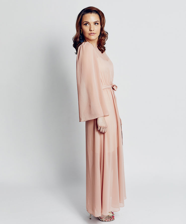 Cocktail Gown (Blush)