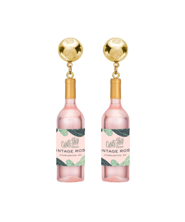 Rosé Statement Earrings