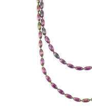 Charleston Rice Bead Necklace (Rainbow Row)