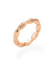 Stackable Rice Bead Ring (Rose Gold)