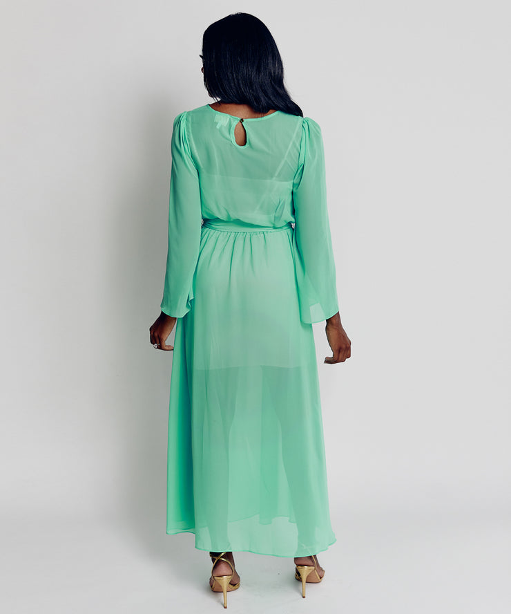 Cocktail Gown (Turquoise)