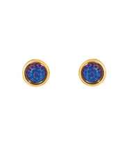 Moon Rock Earrings (Hazy Violet)