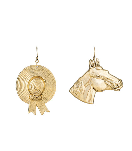 Off to The Races Earrings