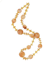 Vintage 1970s Lucite Beaded Necklace