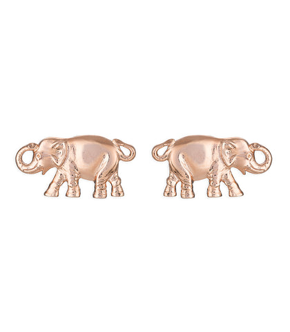 Pink Elephant Earrings