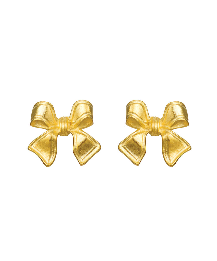Petite Bow Earrings