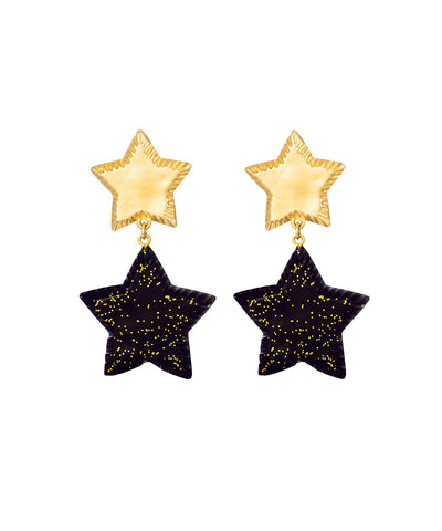 Starry Night Earrings (Noir)