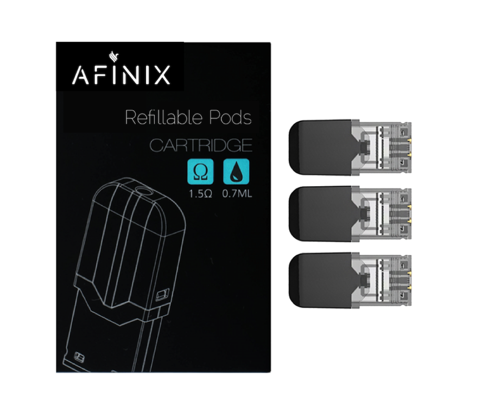 Afinix - Refillable Pods (Juul & Juul Compatible)