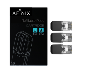 Afinix 30ml Bottle + Refillable Pods (Juul & Juul Compatible) Bundle
