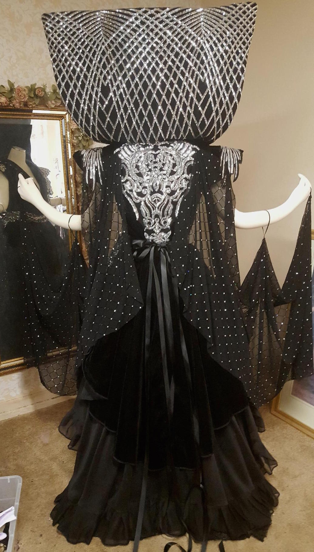 Dark Lily Fantasy Gown from the movie Legend