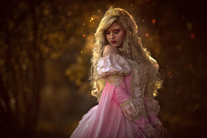 Pink Ombre Fantasy Sleeping Beauty Gown