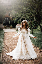 Ever After Fantasy Wedding Gown Light Colors