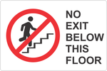 No Exit Below This Floor