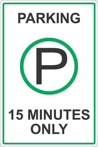 15 Minute Parking