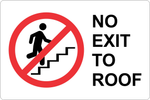 No Exit to Roof