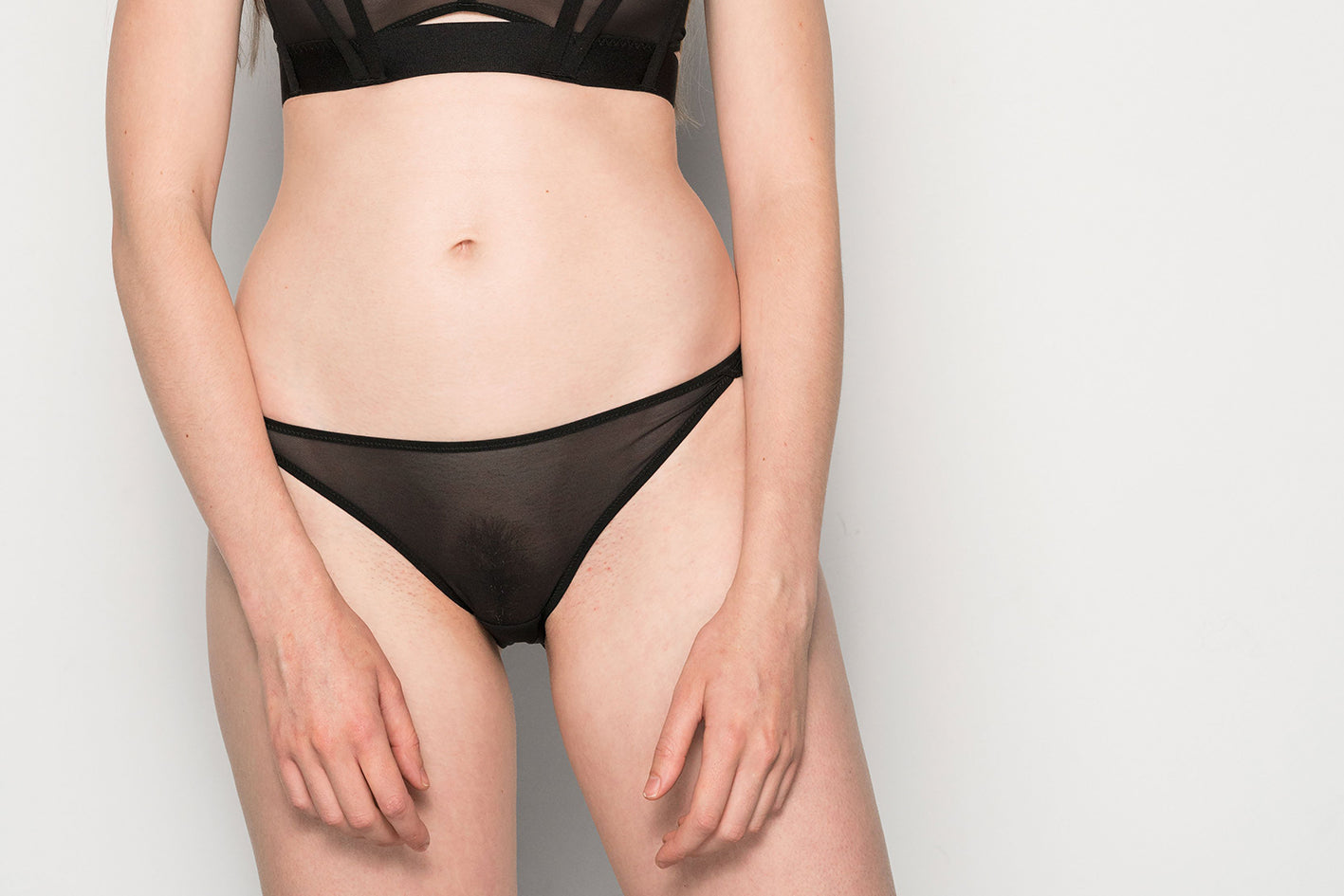 Come Out Mid-Rise Brief Black