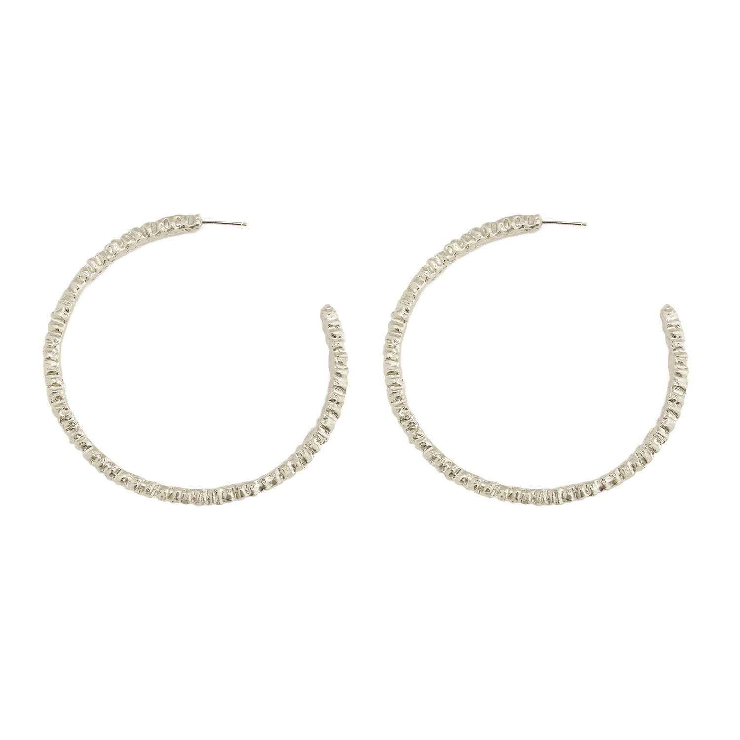 Alexandra Dodds Ceto Hoops Silver Large