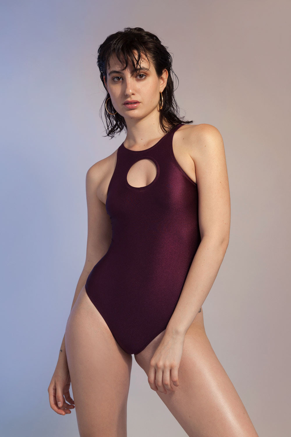 Fantabody Lara Bodysuit Bordeaux