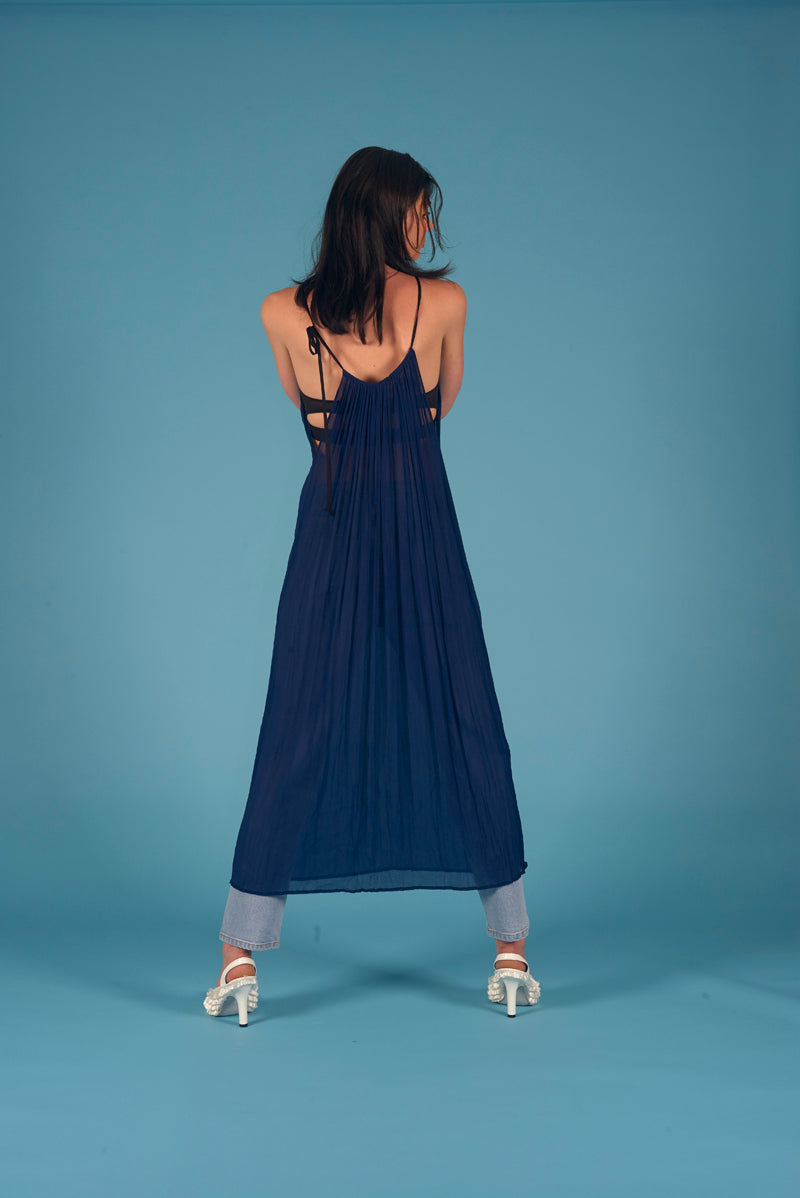 Beatrix Dress Electric Blue