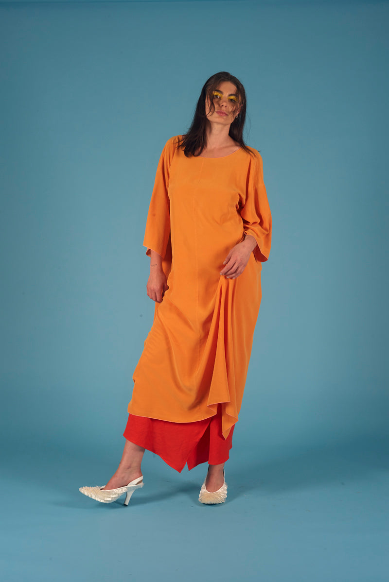 Illumination  Dress Saffron