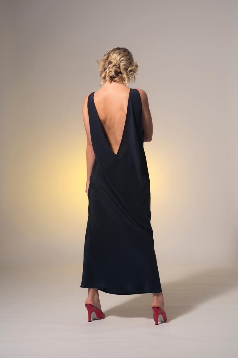 Dreams Top Rock Dress Navy