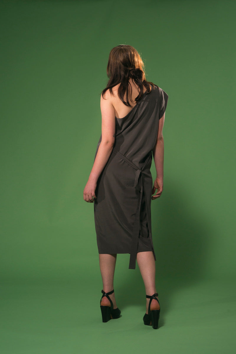 Pentimento Dress Slate