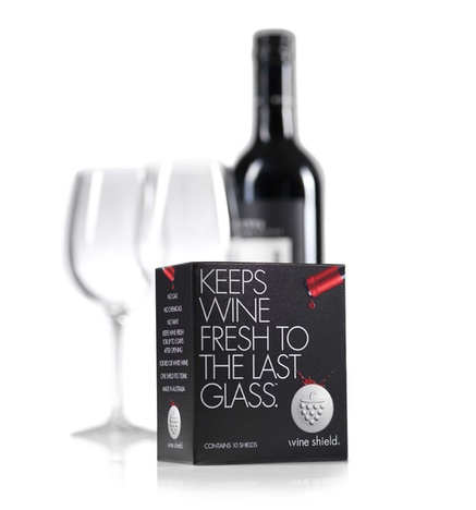 Wine Shield wine saver - 50 pk.
