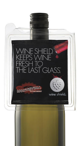 Wine Shield - wine saver - 1 on bottle
