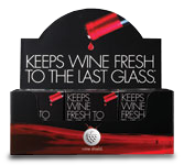 Wine Shield wine saver - 12x10 pk.
