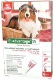 ADVANTAGE/ADVANTIX Advantage Dog, RED, 21-55 LB