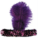 20s Headband Purple