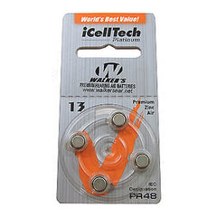 Air Cell Batteries, BTE Only(4pk)