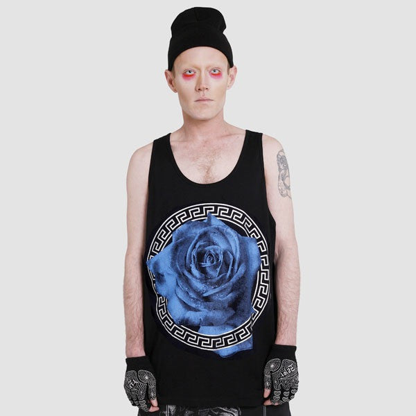 BLUE ROSE TANK TOP
