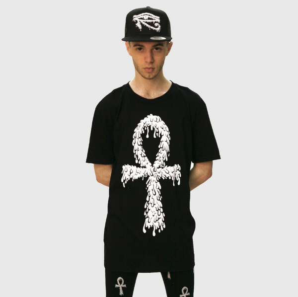 DRIPPING ANKH TEE